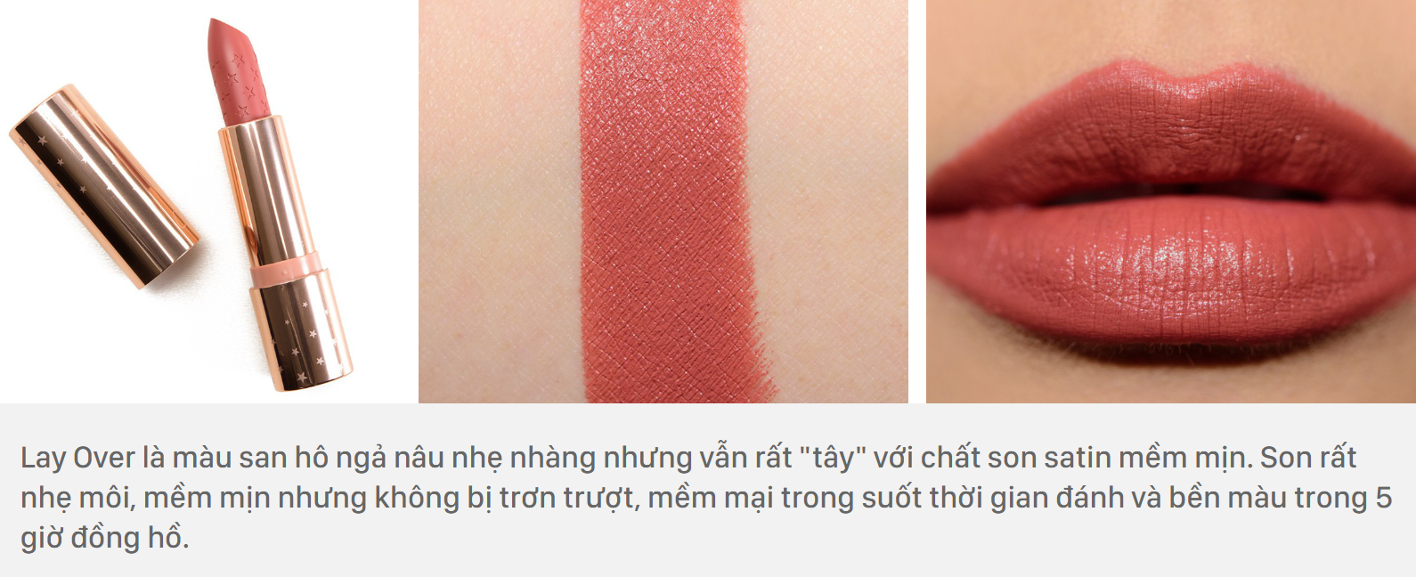 ColourPop Lux Lipstick màu Lay Over