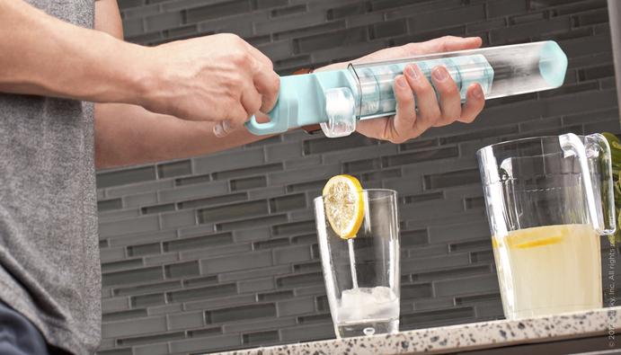 *輕鬆用拉的製冰器 Cube Tube:衛生與便利來自Quirky設計團隊! 1