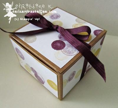 stampin up, box, present, gift, moonlight, mondschein, geschenk