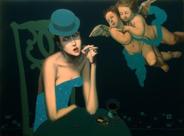 Slava Fokk 1976   Russian Symbolist painter