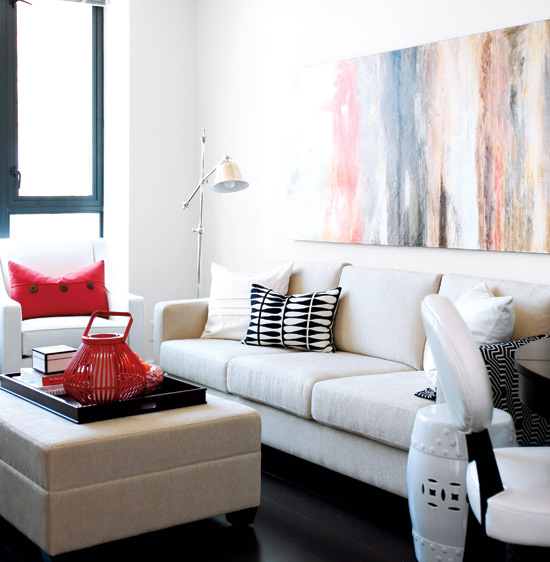 Mix And Chic Effortlessly Chic And Casual Living Rooms