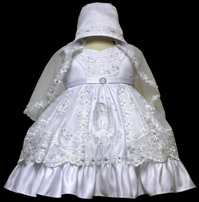 Angel baby girl Christening Baptism Dress Gowns outfit /XS/S/M/L/XL/0-3M/3-6M/6-12M/12-18M/18-24M/XSMALL/SMALL/MEDIUM/LARGE/XL/#602 at Sears.com