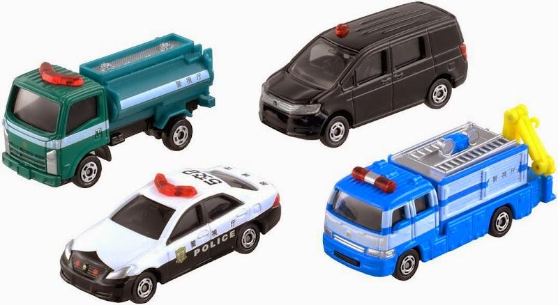 4 chiếc xe cảnh sát Tomica thật đẹp mắt
