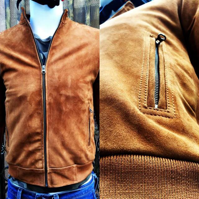 áo khoác da cừu nam cao cấp