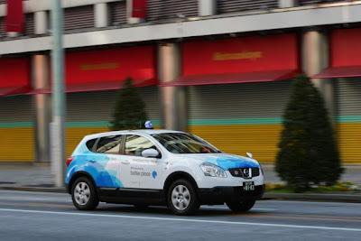 Nissan Dualis EV Taxi