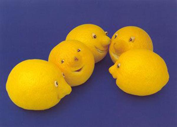 Food Art - Lemon Family