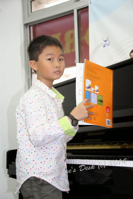 The Boys Piano Recital