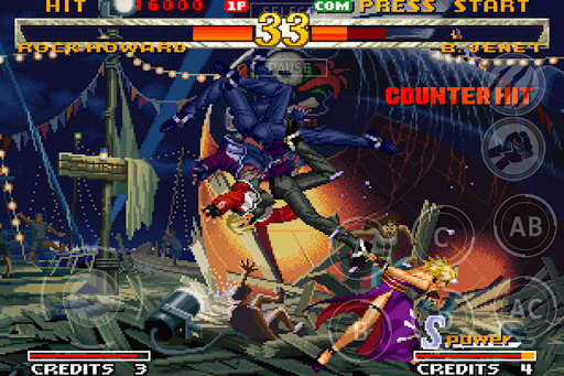 GAROU: MARK OF THE WOLVES for Android