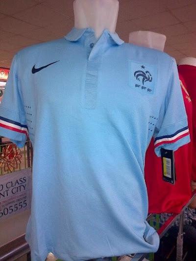 Jual Jersey Perancis Away Piala Dunia 2014