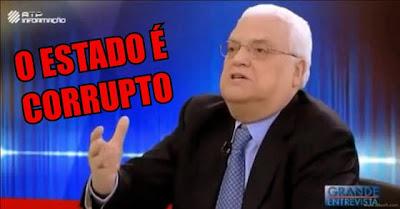 CORRUPÇÃO: Freitas Do Amaral Explica Como São Roubados E Enganados Os Contribuintes Portugueses