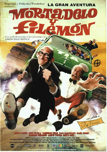 La gran aventura de Mortadelo y Filemón, cartel