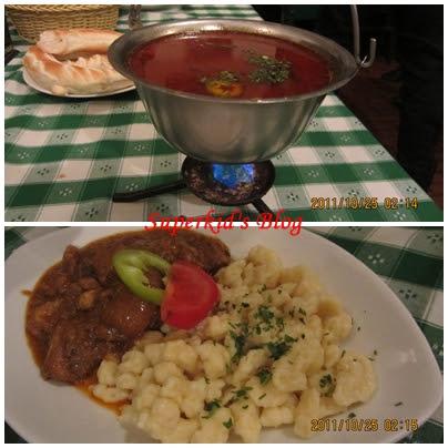 大名鼎鼎的匈牙利燉牛肉