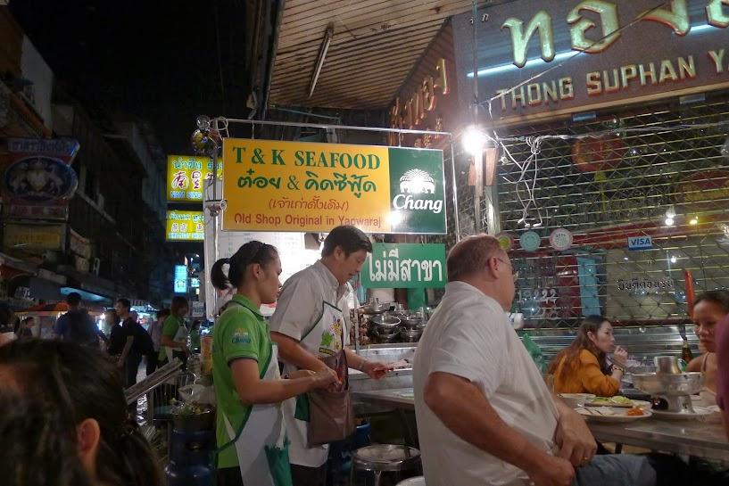 quán hải sản T & K du lịch Bangkok