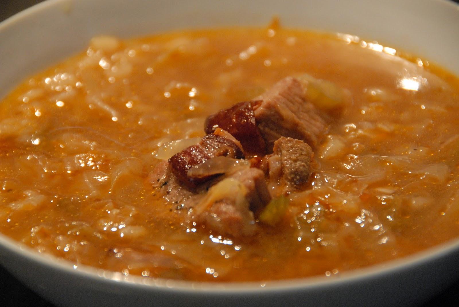 Lasater Grasslands Beef: Rustic Cabbage, Beef & Barley Soup
