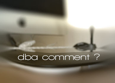 dba comment ?