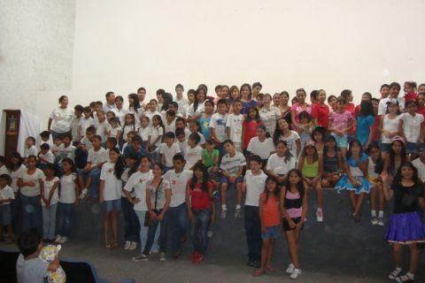Clausura de los cursos Vacaciones Diferentes 2012