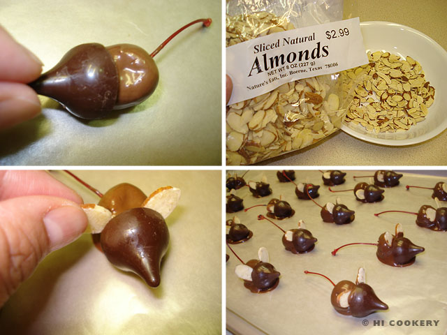 Chocolate-Cherry Mice