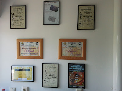 My wall of fame in my brewery.