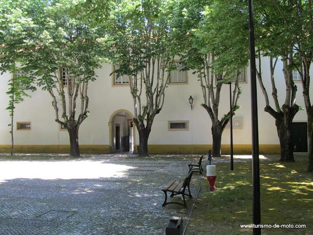 Praça da República em Tomar, Cidade dos Templários, Ribatejo