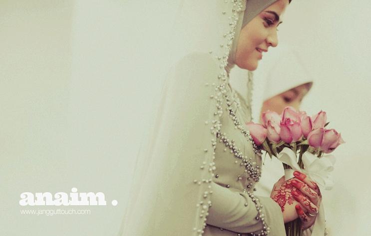 Gambar Ana Raffali kahwin resepsi bersanding