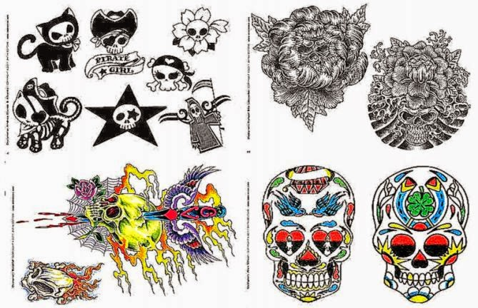 Tattoo Professionist 8 Skulls for All Tattoo Book  eBay