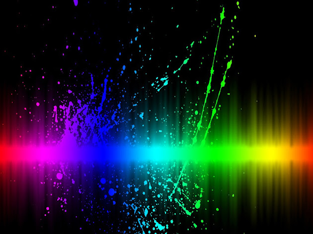 Bright Neon Rainbow Backgrounds Bright paint s Bright Rainbow Wallpaper