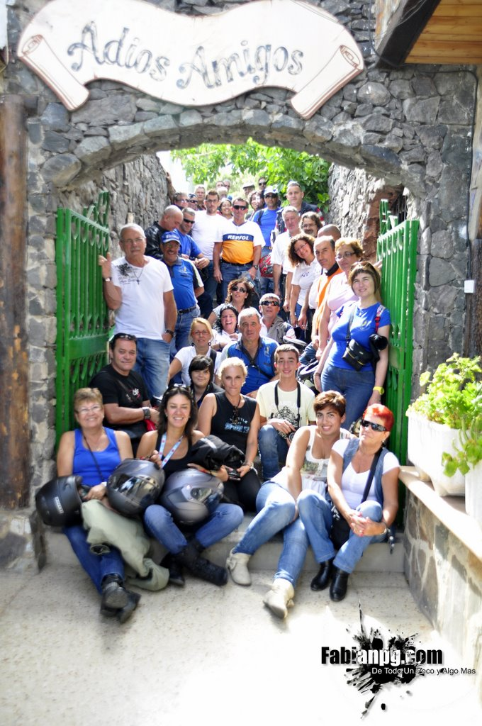 Excursión Moteros Bañaderos con Moto Club San Roque