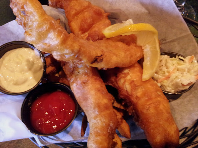 British Fish and Chips. From  Foodie Finds: Chequers of Saugatuck