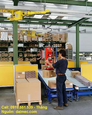 Cánh tay robot Dalmec Italy cartons Speedyfil