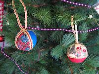 bolas de Navidad/Christmas ball ornament