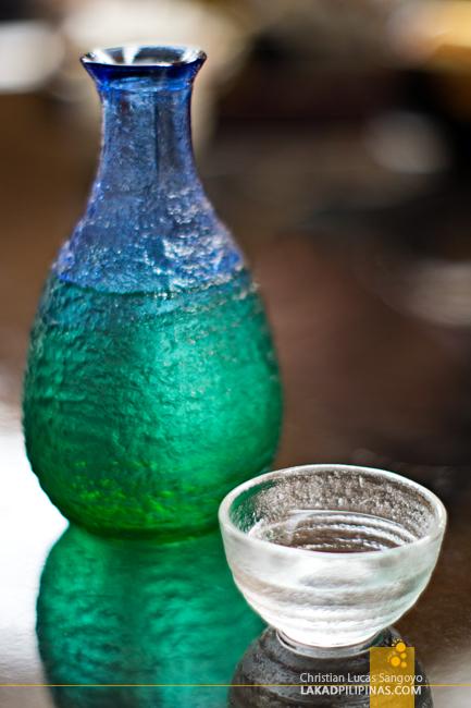 Sake at Sakura Jaya in Tokyo