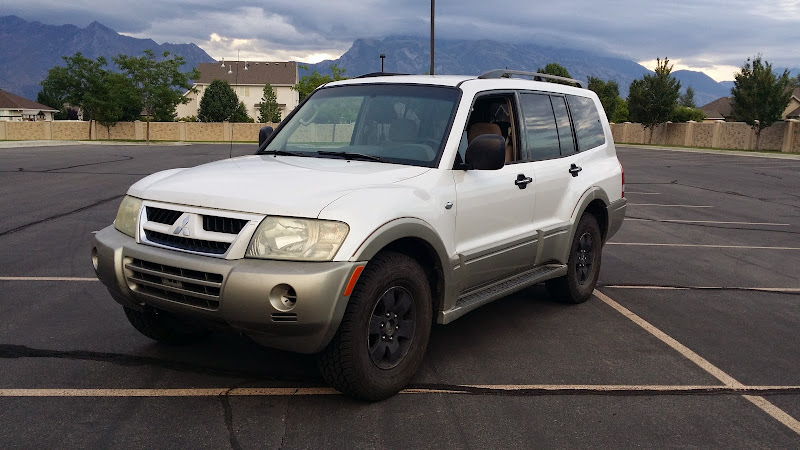 sixstringsteves 2003 mitsubishi montero non build thread