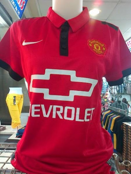 Jual Jersey Wanita Manchester United Chevrolet