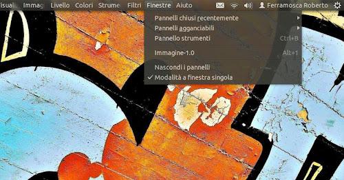 GIMP 2.8 su Ubuntu