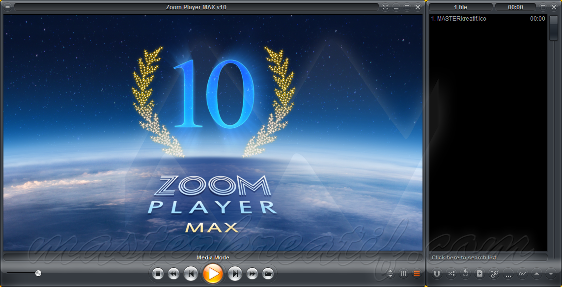 Zoom Player MAX v10