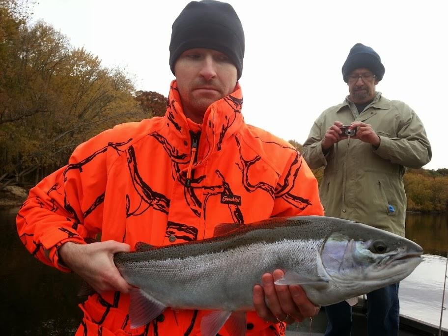 Guided Steelhead Fishing in Grand Rapids