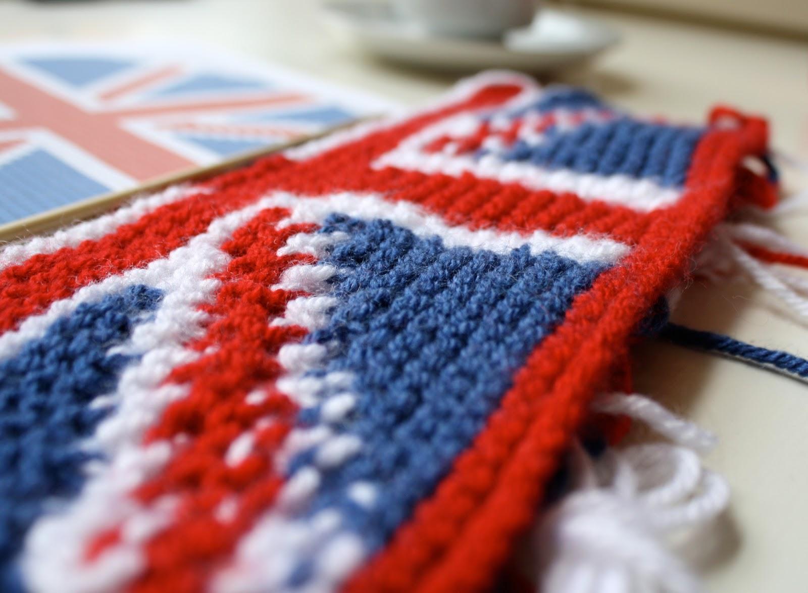 Knitting Pattern For Union Jack Tea Cosy : one sheepish girl: WIP Wednesday - Union Jack Tea Cosy