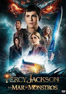 Filme Poster Percy Jackson e o Mar dos Monstros DVDRip XviD Dual Audio & RMVB Dublado