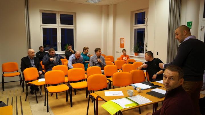 Walne Zebranie Iskry w COP Konin - 11 stycznia 2015r.