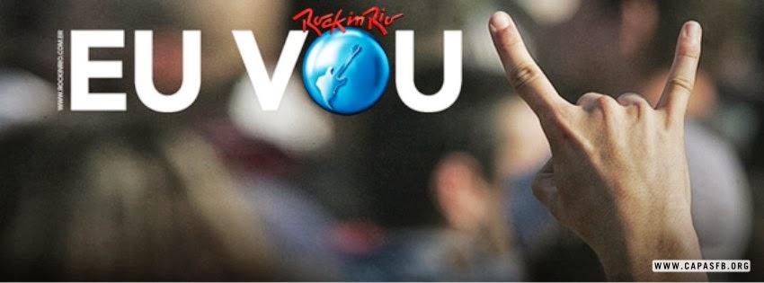 Capas para Facebook Rock in Rio
