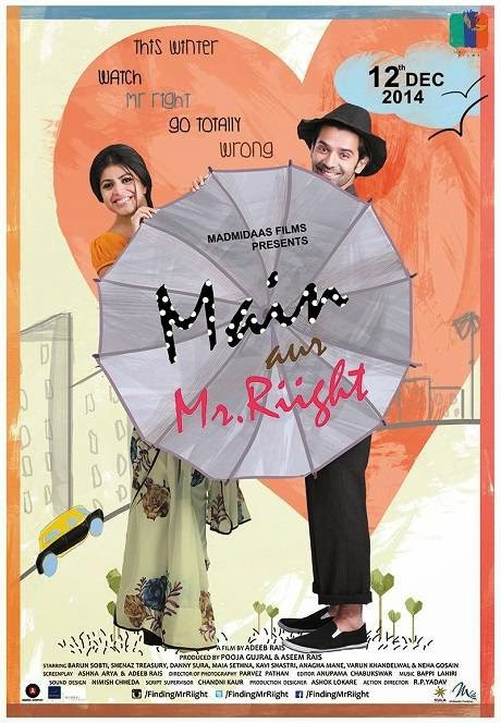 Poster Of Hindi Movie Main Aur Mr. Riight (2014) Free Download Full New Hindi Movie Watch Online At Alldownloads4u.Com