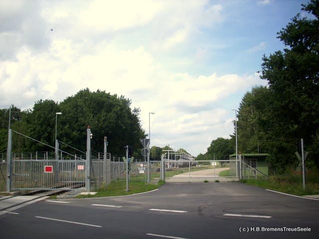 Tanklager Farge, Einfahrt B74