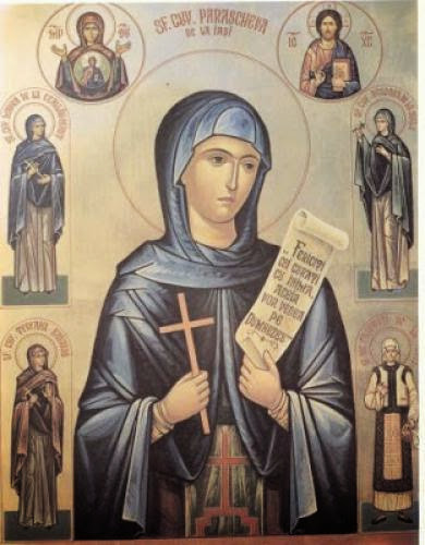 Saint Parascheva And Her Feast Day In Romania