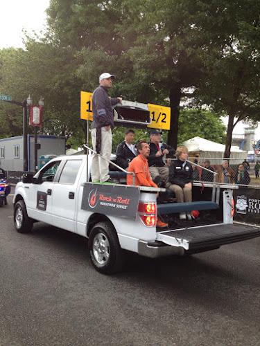 pace truck, Rock 'n' Roll Portland Half Marathon