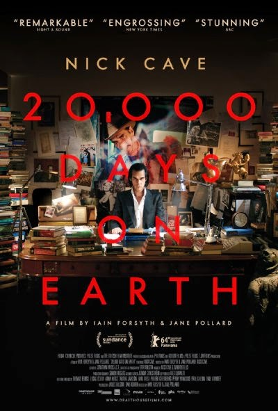 Poster Of English Movie 20,000 Days on Earth (2014) Free Download Full New Hollywood Movie Watch Online At Alldownloads4u.Com