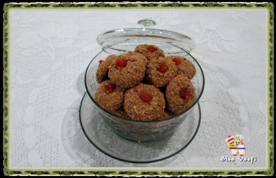 Biscoito de aveia com geleia e castanhas de caju 2