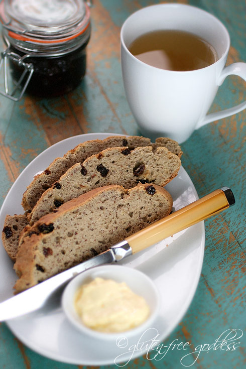 Gluten-Free Goddess® Recipes: Gluten-Free Irish Soda Bread (and ...