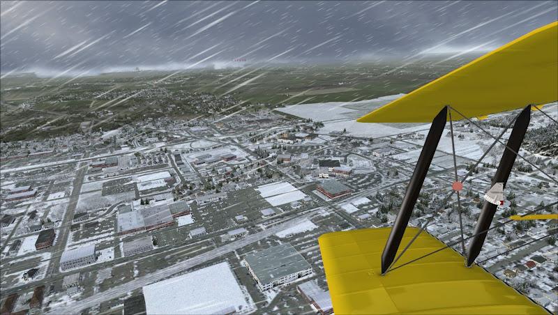 Ok FSX    Is it snowing or isn't it?! - Community Screenshots - Orbx