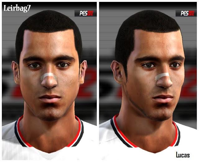 Lucas Face - PES 2012