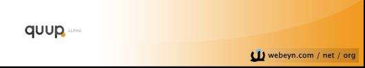 quup banner